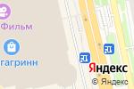 Схема проезда до компании Доминикана в Белгороде