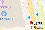 Схема проезда до компании Меховой Ларец в Белгороде
