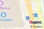 Схема проезда до компании Джинсовый мир в Белгороде