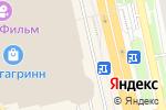 Схема проезда до компании Зеркальный лабиринт в Белгороде