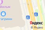 Схема проезда до компании Котофей в Белгороде