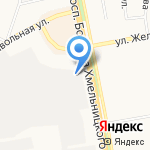 СигмаТек на карте Белгорода