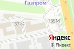 Схема проезда до компании СигмаТек в Белгороде