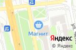 Схема проезда до компании Мебель-микс в Белгороде