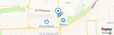 Декоратор на карте Белгорода