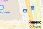 Схема проезда до компании ЧАСЫ в Белгороде