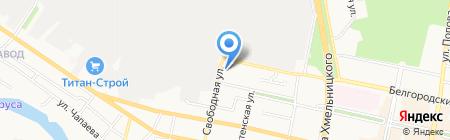 Теплосфера на карте Белгорода