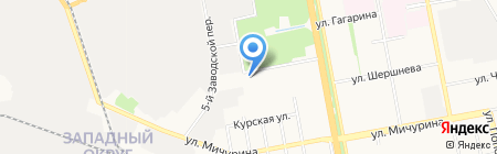 Газэнергокомплект на карте Белгорода