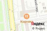 Схема проезда до компании TITAN GYM в Белгороде