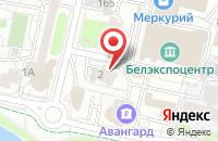 Схема проезда до компании СПСР-ЭКСПРЕСС в Белгороде
