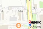 Схема проезда до компании Ваша мебель в Белгороде