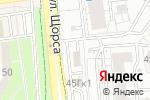 Схема проезда до компании ТАУ в Белгороде