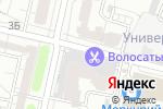 Схема проезда до компании Зебра в Белгороде