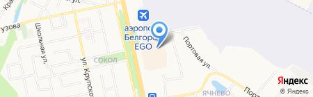 Книжный остров на карте Белгорода