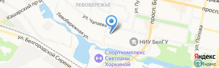 СитиЛайт на карте Белгорода