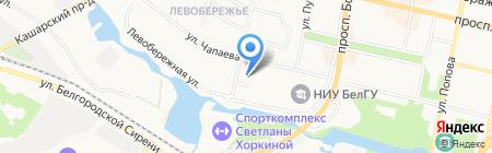 TorToni на карте Белгорода