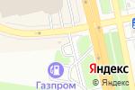 Схема проезда до компании АГЗС Газпром в Белгороде