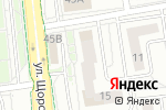 Схема проезда до компании Vista Design в Белгороде