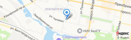 Белплекс Недвижимость на карте Белгорода