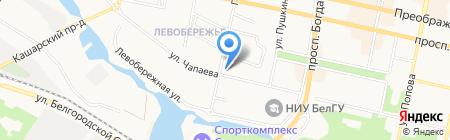Салонъ недвижимости на карте Белгорода