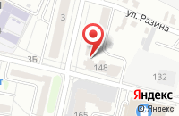 Схема проезда до компании Салонъ недвижимости в Белгороде