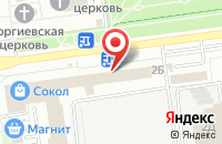 Схема проезда до компании Реклама для Всех в Белгороде