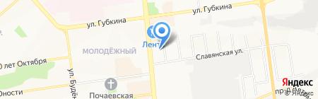 Корчма на карте Белгорода