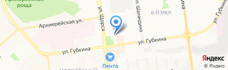 Главное бюро медико-социальной экспертизы по Белгородской области на карте Белгорода