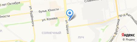 ТАУ на карте Белгорода