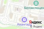 Схема проезда до компании D`Luna в Белгороде