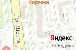 Схема проезда до компании Руфмастер в Белгороде