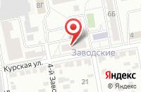 Схема проезда до компании Новые Информационные Технологии в Белгороде