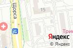 Схема проезда до компании ЛюксФит в Белгороде
