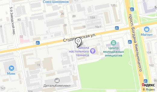 Теплоэконом-ЭСКО. Схема проезда в Белгороде