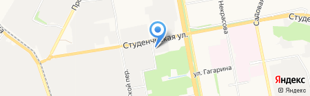 Меркурий на карте Белгорода