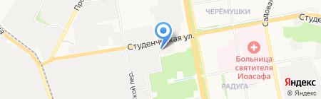 Сварщик-Донмет на карте Белгорода