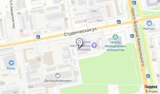 Сварщик-Донмет. Схема проезда в Белгороде