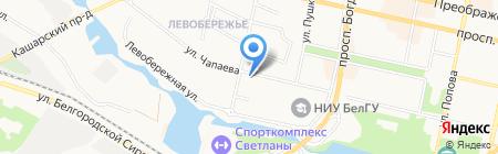 Кафедра на карте Белгорода