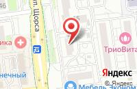 Схема проезда до компании Тепло в доме в Белгороде