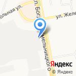 ОКВА на карте Белгорода