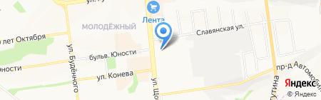Детский шаг на карте Белгорода