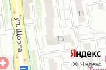 Схема проезда до компании Мир ковров в Белгороде
