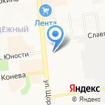 Антошка на карте Белгорода