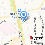 Кузнечная мастерская на карте Белгорода