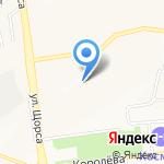 Солнышко на карте Белгорода