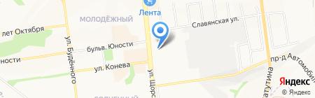 Магазин бытовой техники на карте Белгорода