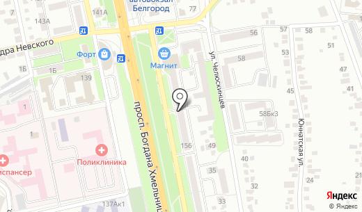 ГРАНИТ. Схема проезда в Белгороде