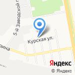 Электрозащита на карте Белгорода