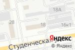 Схема проезда до компании Formula 1 в Белгороде