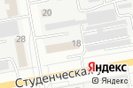Схема проезда до компании Ананас в Белгороде